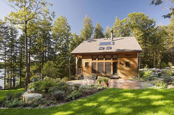 Rumah Sederhana Atap Kaca