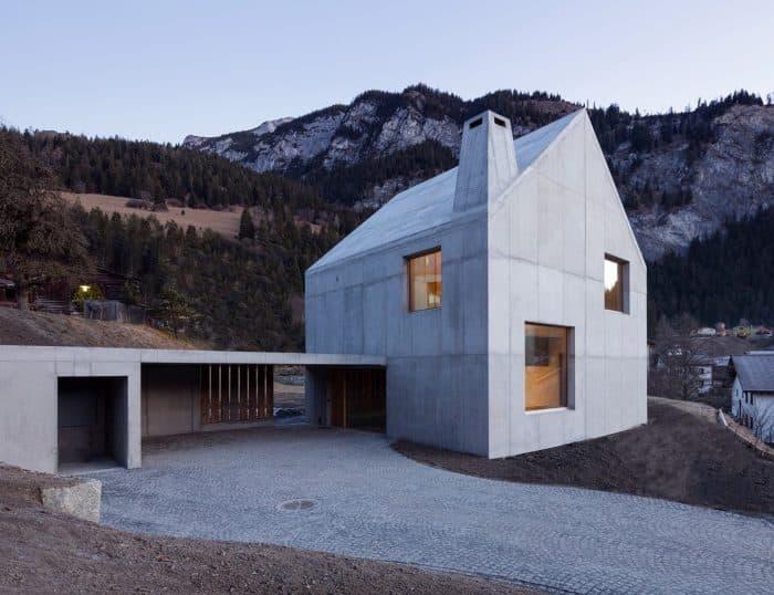 Rumah dengan gaya eskimo