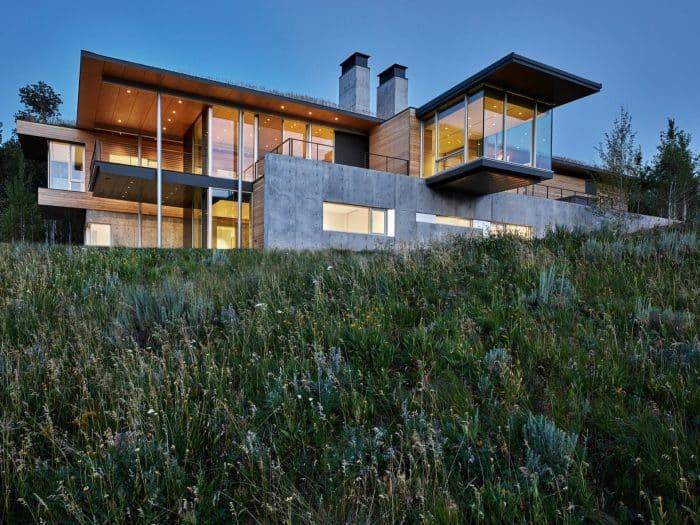 Rumah kaca minimalis modern
