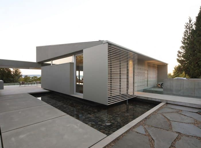 Rumah kotak modern artsy