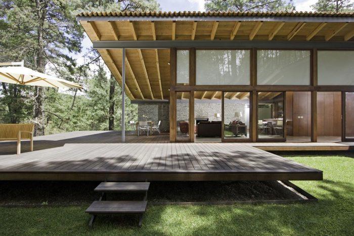 Rumah modern dengan gaya Japaneese