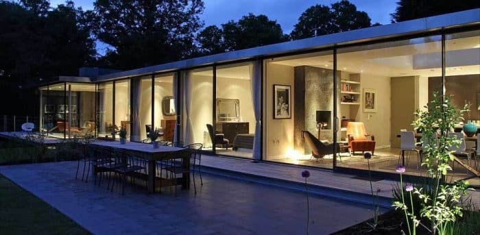 Rumah modern minimalis Eropa