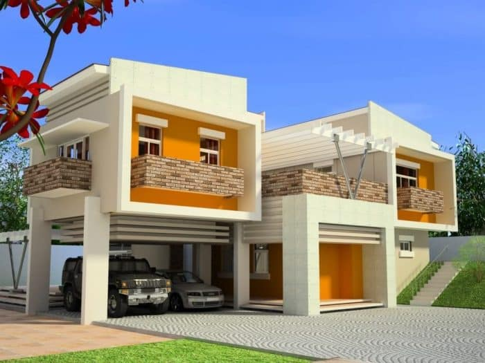 Rumah modern minimalis kekinian