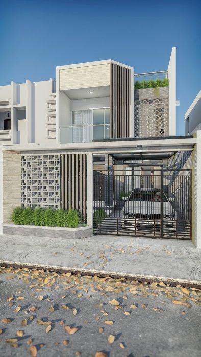 Rumah modern minimalis sederhana