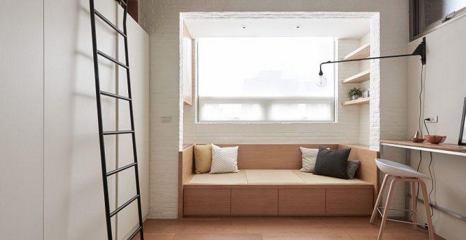 45 Contoh Desain Kamar Tidur Ukuran 3x3 Minimalis
