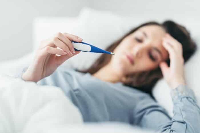 Sebagai Obat Flu dan demam