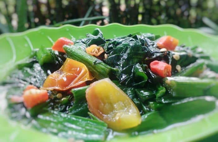 Sebagai sayuran untuk lauk-pauk