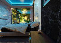 contoh desain kamar unik