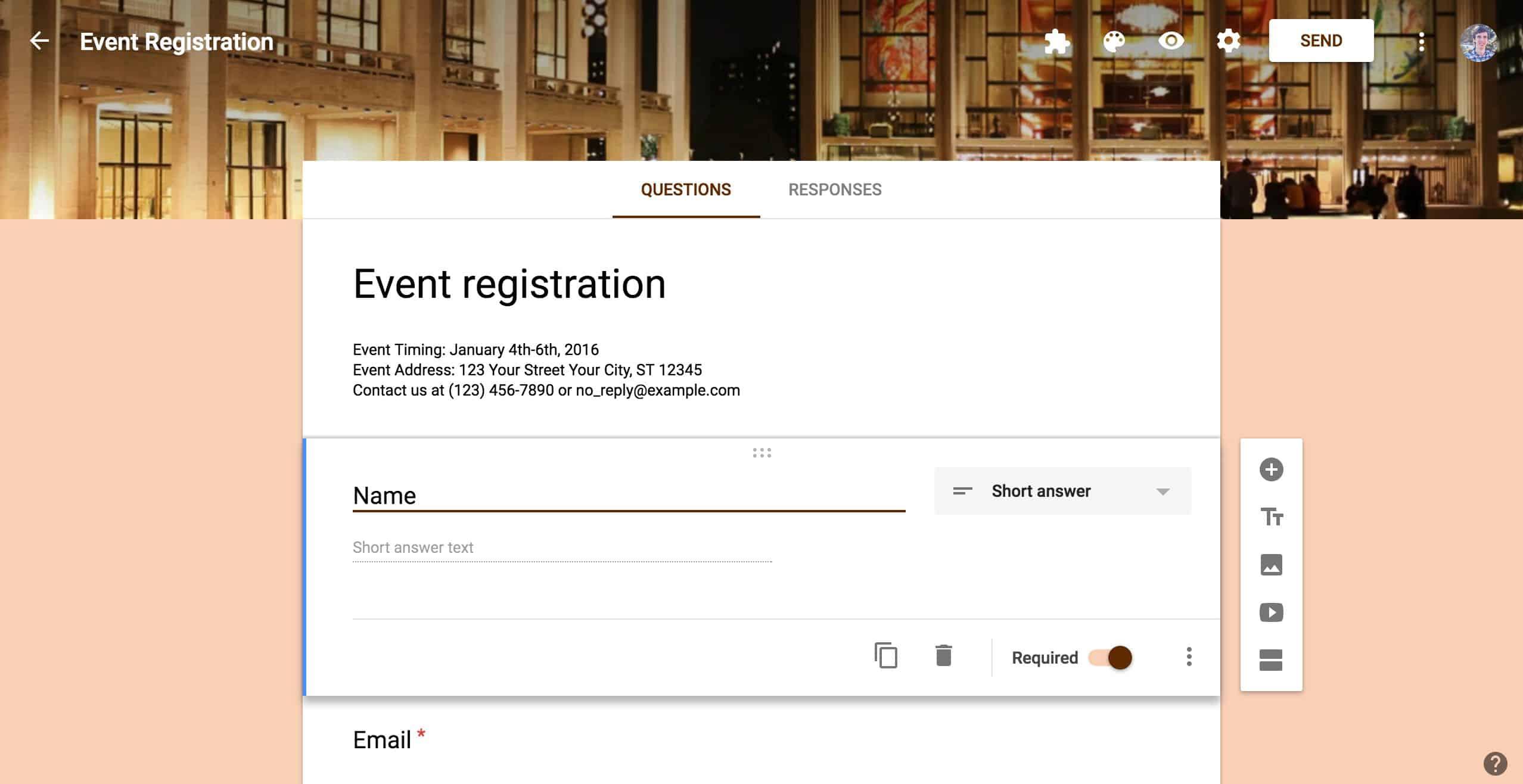Cara Membuat Google Form Untuk Formulir Pendaftaran Thegorbalsla